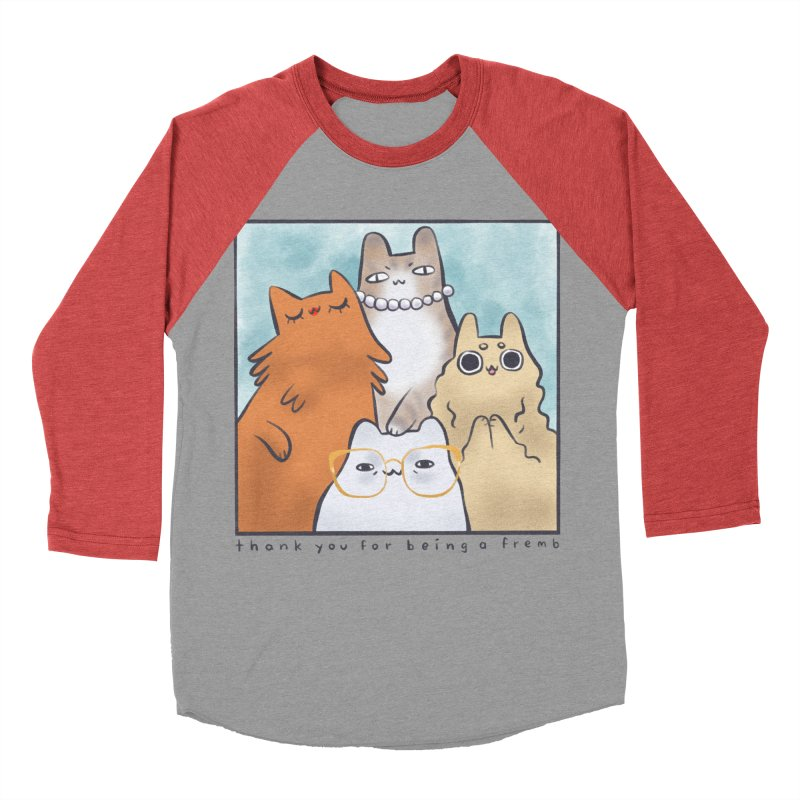 Golden Frembs Women's Baseball Triblend Longsleeve T-Shirt by Hey there, Waterbear!