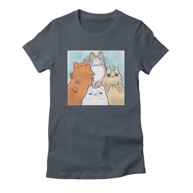 Golden Frembs Women's Fitted T-Shirt by Hey there, Waterbear!