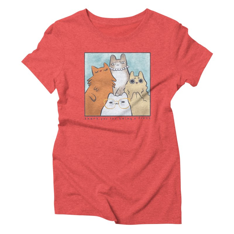 Golden Frembs Women's Triblend T-Shirt by Hey there, Waterbear!