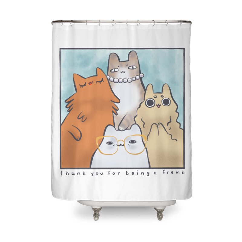 Golden Frembs Home Shower Curtain by Hey there, Waterbear!