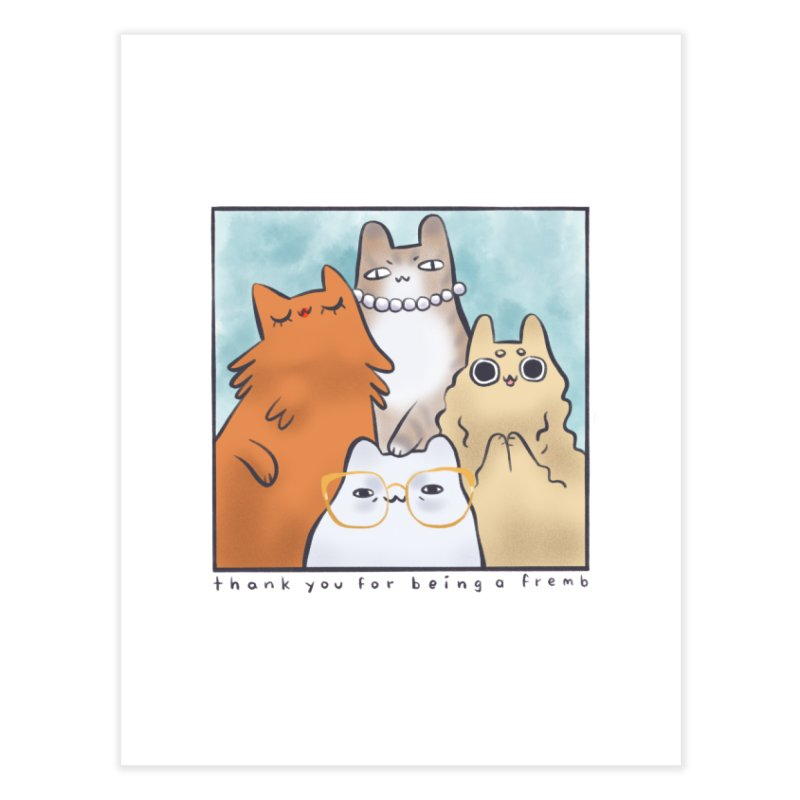 Golden Frembs Home Fine Art Print by Hey there, Waterbear!