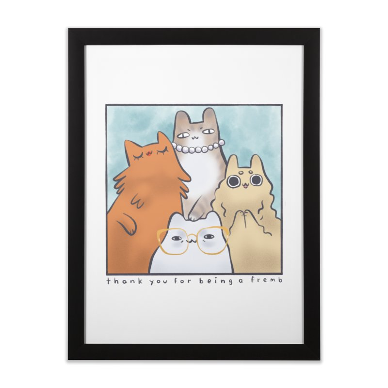 Golden Frembs Home Framed Fine Art Print by Hey there, Waterbear!