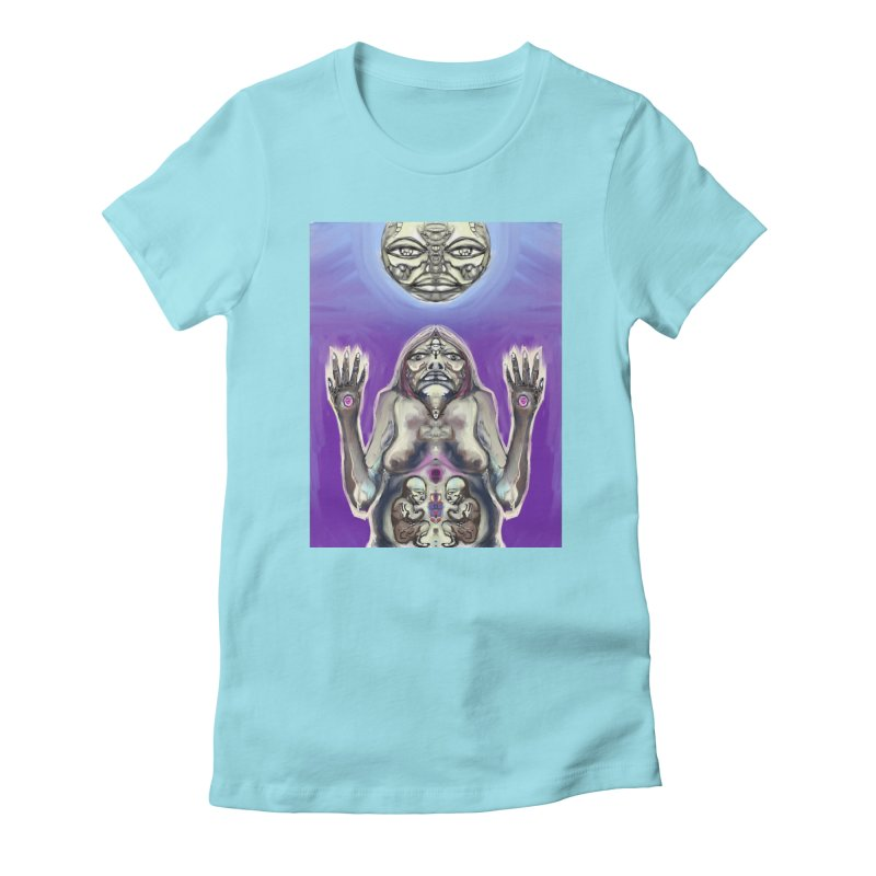 Creation Song Women's T-Shirt by waterhummingbirdhouse's Artist Shop