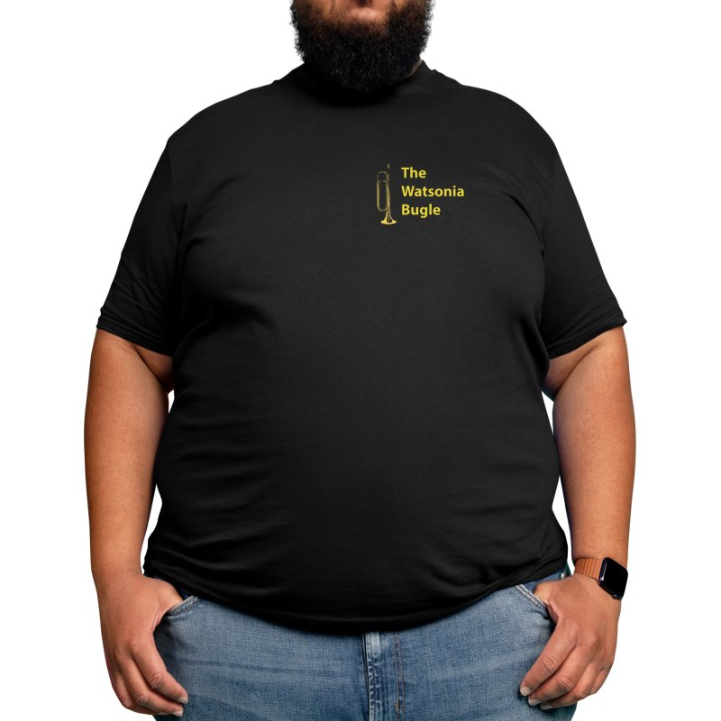 The Watsonia Bugle Men's T-Shirt by watsoniabugle's Artist Shop