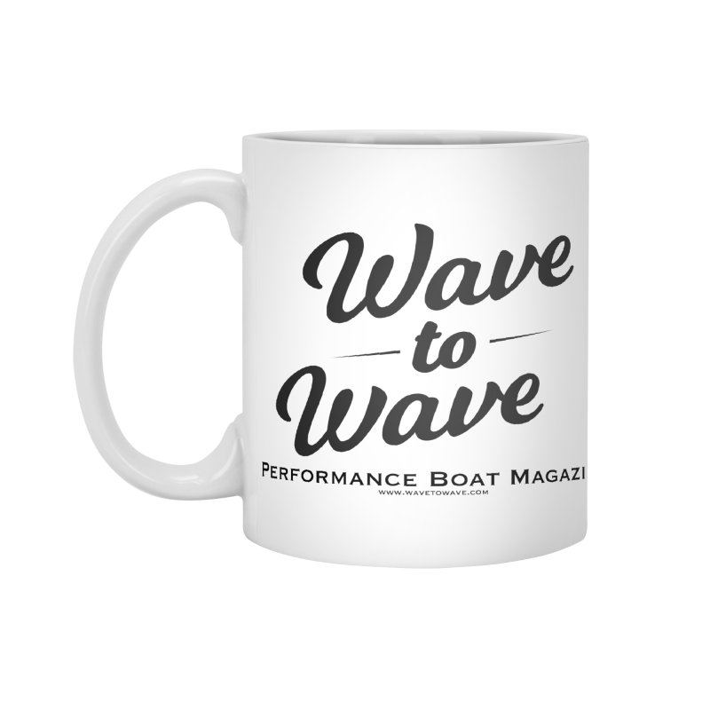 Wave to Wave Original Logo Accessories Standard Mug by Wave to Wave's Artist Shop
