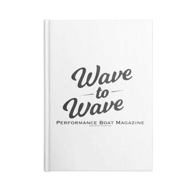 Wave to Wave Original Logo Accessories Blank Journal Notebook by Wave to Wave's Artist Shop