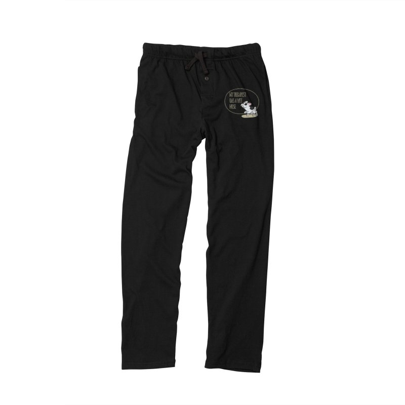 My Therapist Has a Wet Nose Men's Lounge Pants by WaWaTees Shop