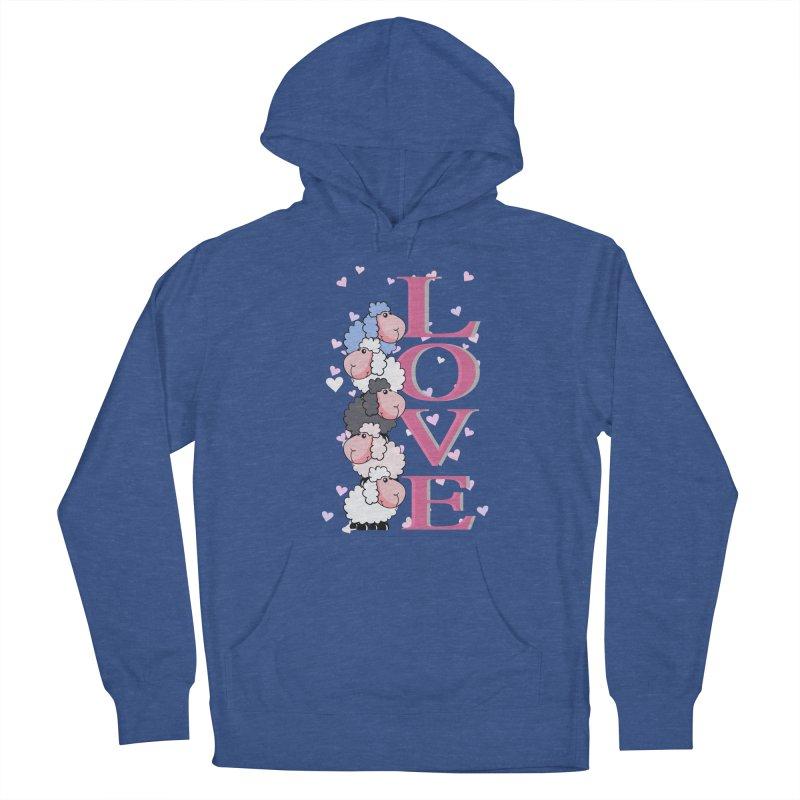 Love Sheeps Women's Pullover Hoody by WaWaTees Shop