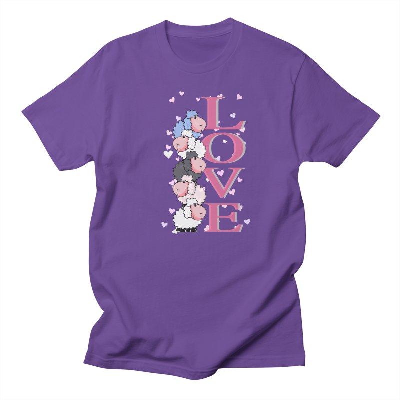 Love Sheeps Men's T-Shirt by WaWaTees Shop