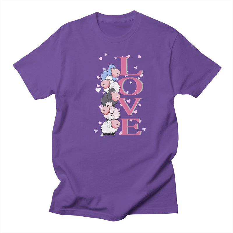 Love Sheeps Women's Unisex T-Shirt by WaWaTees Shop