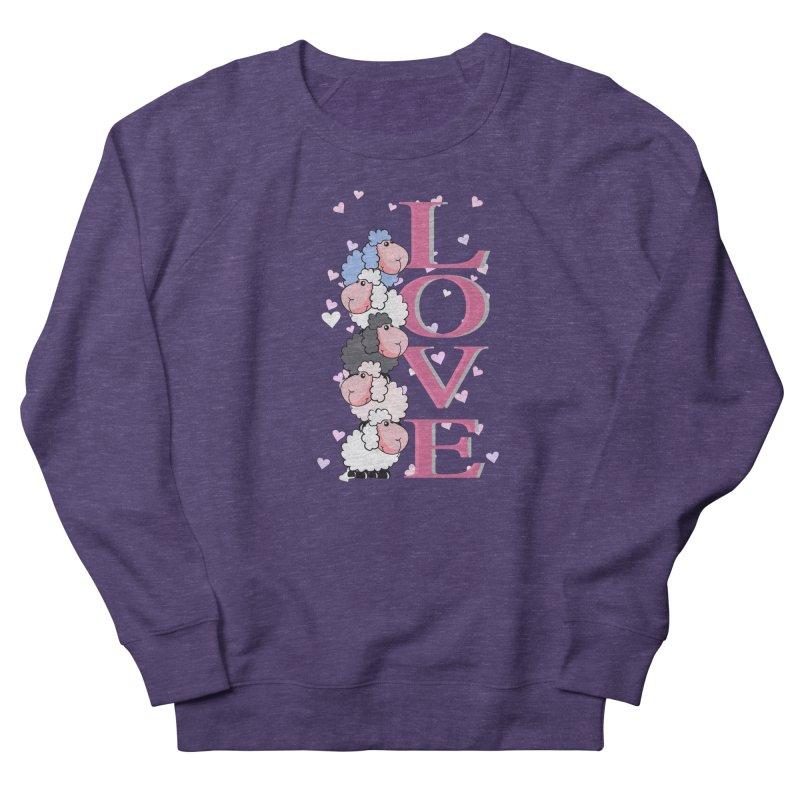 Love Sheeps Women's Sweatshirt by WaWaTees Shop