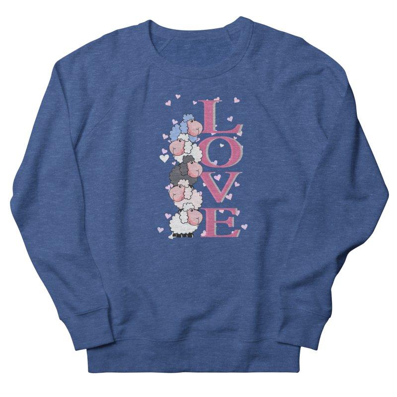 Love Sheeps Men's Sweatshirt by WaWaTees Shop