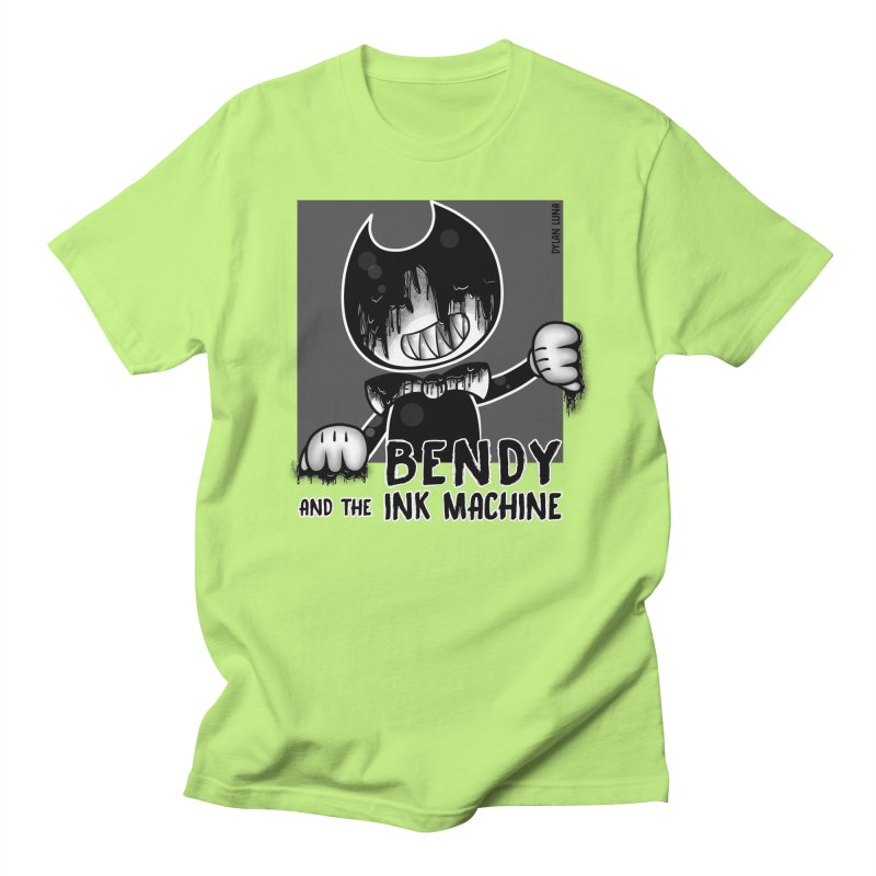 Evil Bendy on the Window Women's Unisex T-Shirt by WaWaTees Shop