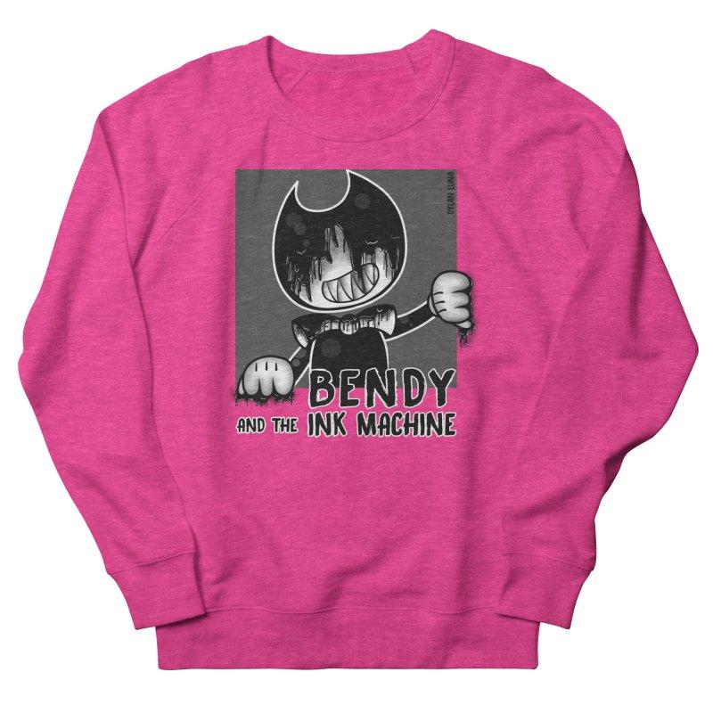 Evil Bendy on the Window Men's Sweatshirt by WaWaTees Shop