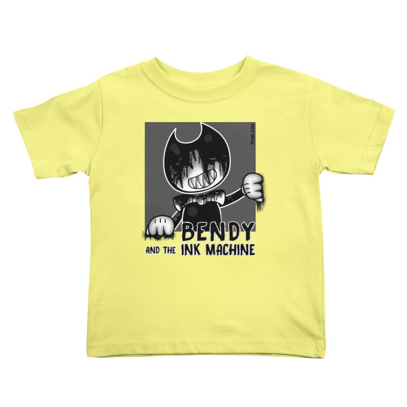 Evil Bendy on the Window Kids Toddler T-Shirt by WaWaTees Shop