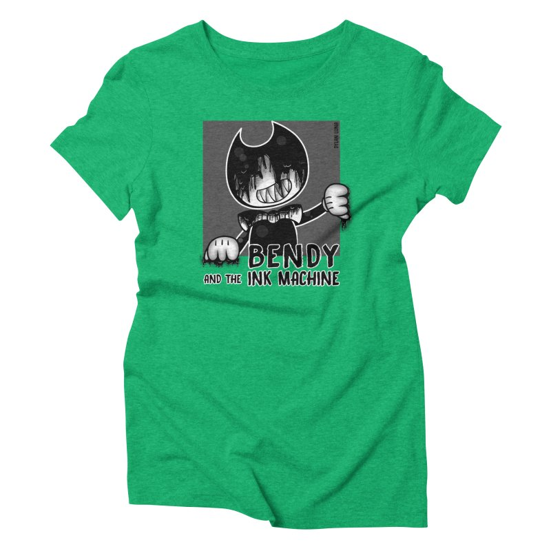 Evil Bendy on the Window Women's Triblend T-shirt by WaWaTees Shop