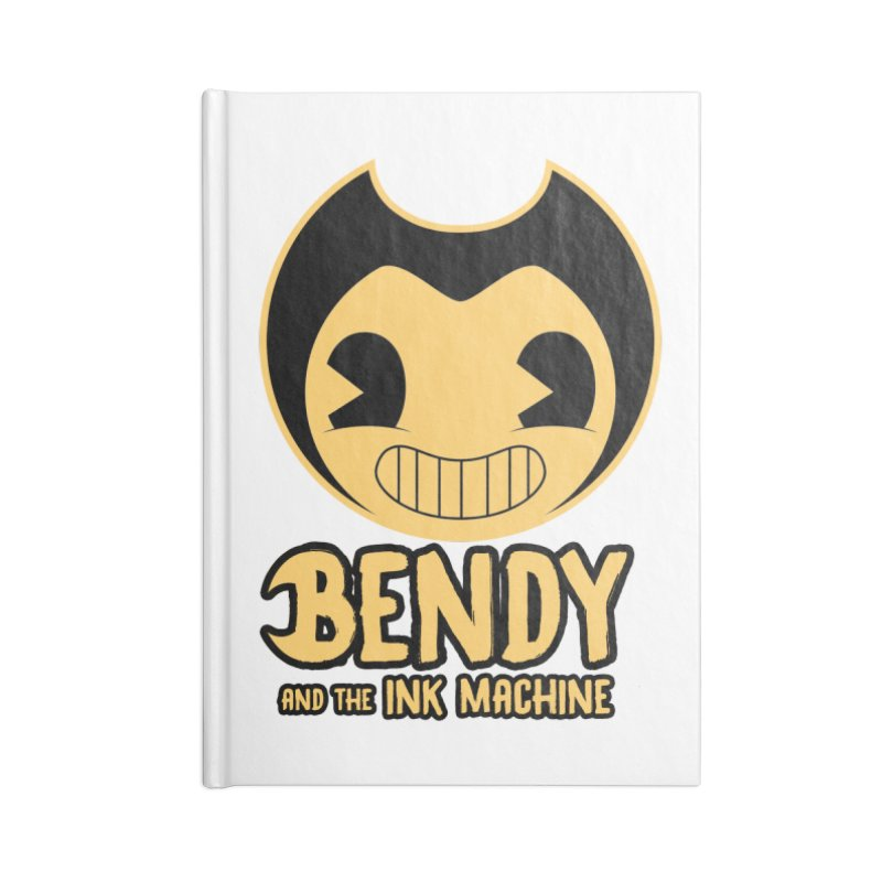 Bendy and The Ink Machine Accessories Notebook by WaWaTees Shop