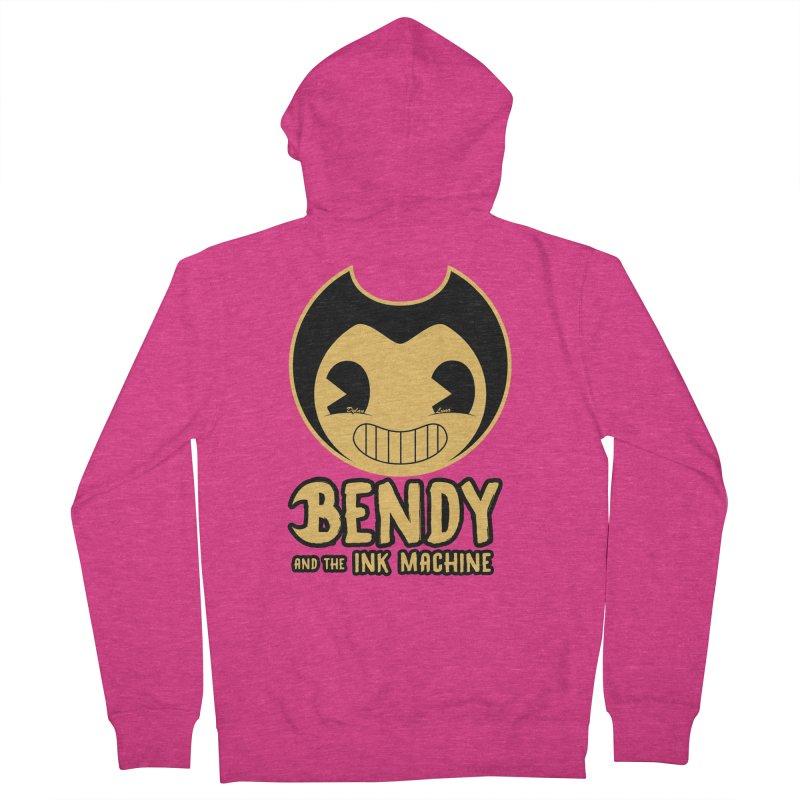 Bendy and The Ink Machine Women's Zip-Up Hoody by WaWaTees Shop