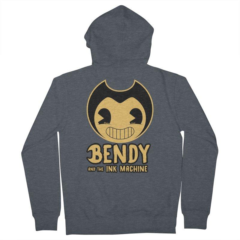 Bendy and The Ink Machine Men's Zip-Up Hoody by WaWaTees Shop