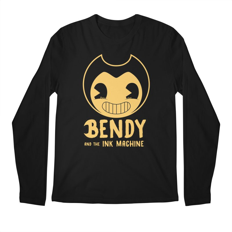 Bendy and The Ink Machine Men's Longsleeve T-Shirt by WaWaTees Shop