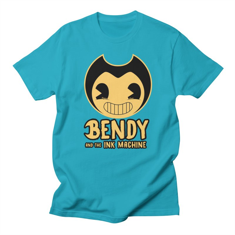 Bendy and The Ink Machine Men's T-shirt by WaWaTees Shop