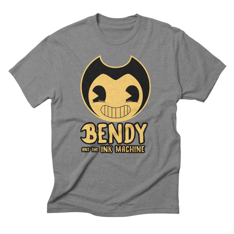 Bendy and The Ink Machine Men's Triblend T-Shirt by WaWaTees Shop