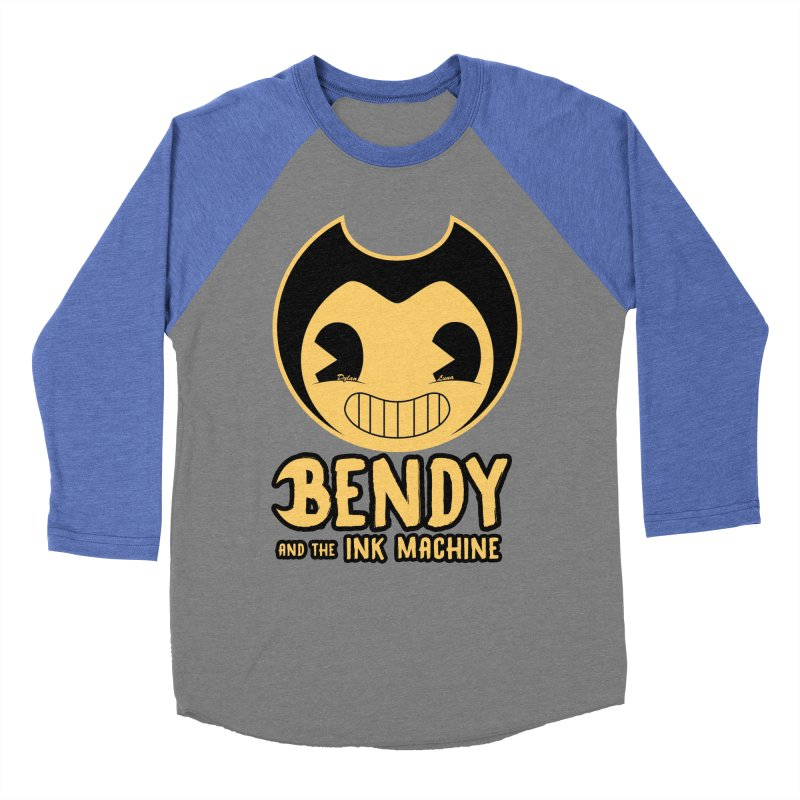 Bendy and The Ink Machine Women's Baseball Triblend T-Shirt by WaWaTees Shop