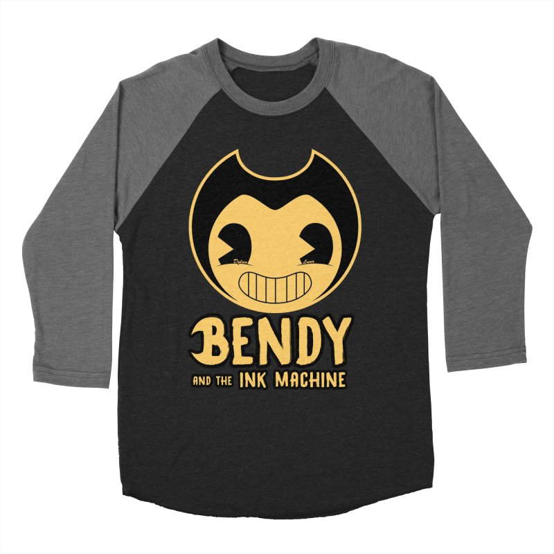 Bendy and The Ink Machine Men's Baseball Triblend T-Shirt by WaWaTees Shop