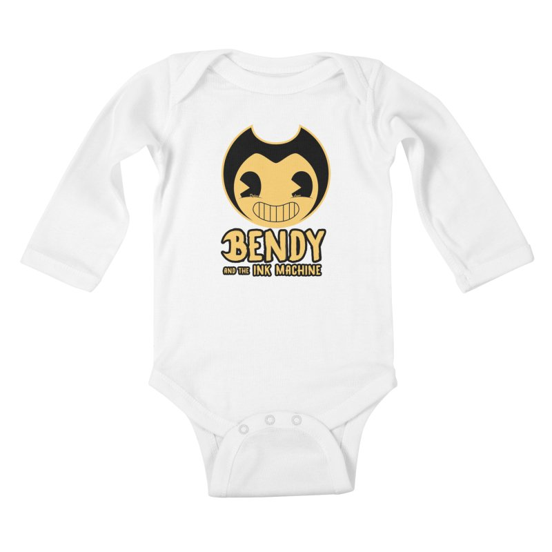 Bendy and The Ink Machine Kids Baby Longsleeve Bodysuit by WaWaTees Shop