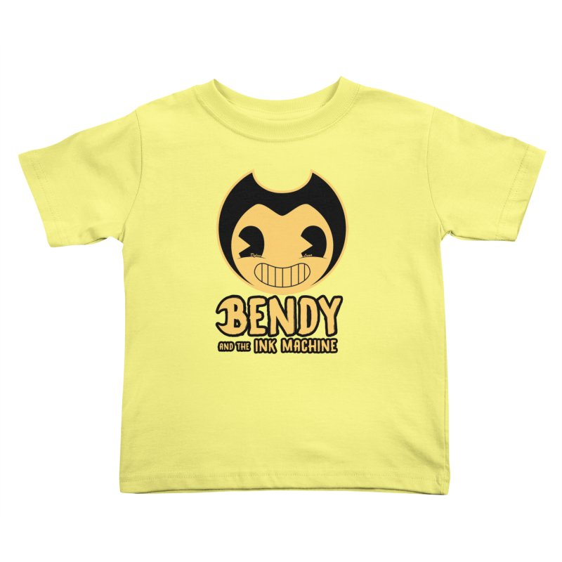 Bendy and The Ink Machine Kids Toddler T-Shirt by WaWaTees Shop