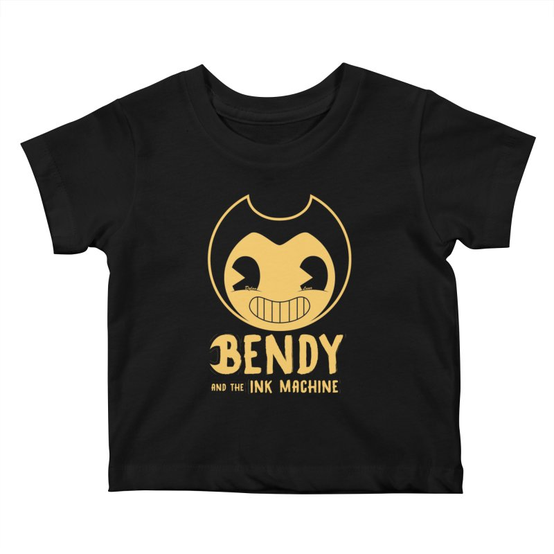 Bendy and The Ink Machine Kids Baby T-Shirt by WaWaTees Shop