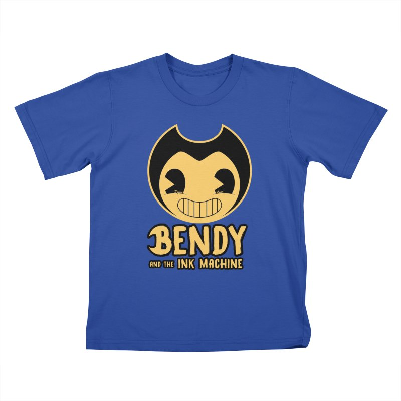 Bendy and The Ink Machine Kids T-shirt by WaWaTees Shop