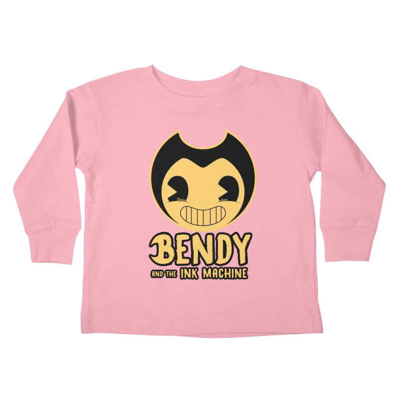 Bendy and The Ink Machine Kids Toddler Longsleeve T-Shirt by WaWaTees Shop