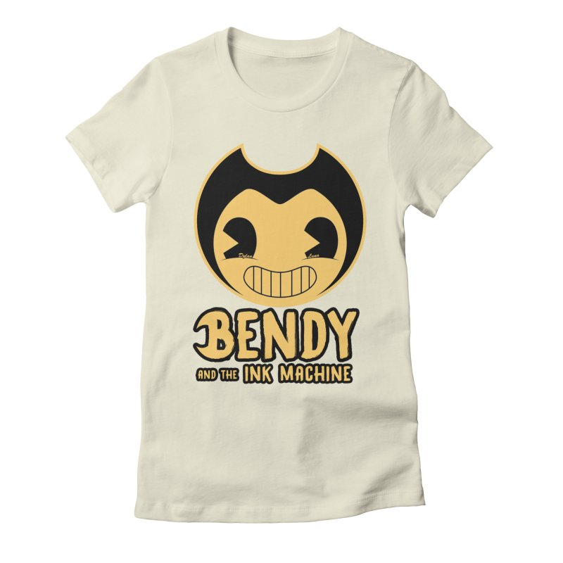 Bendy and The Ink Machine Women's Fitted T-Shirt by WaWaTees Shop