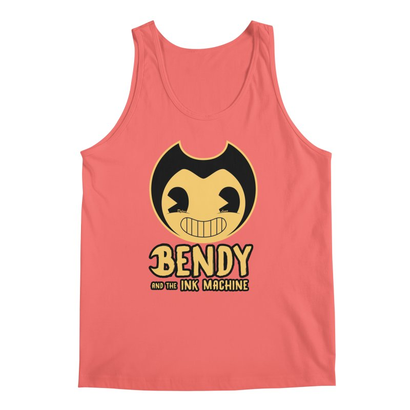 Bendy and The Ink Machine Men's Tank by WaWaTees Shop