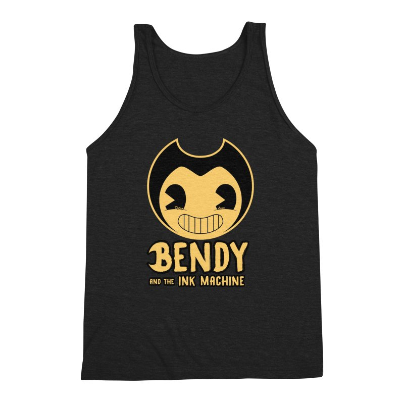 Bendy and The Ink Machine Men's Triblend Tank by WaWaTees Shop