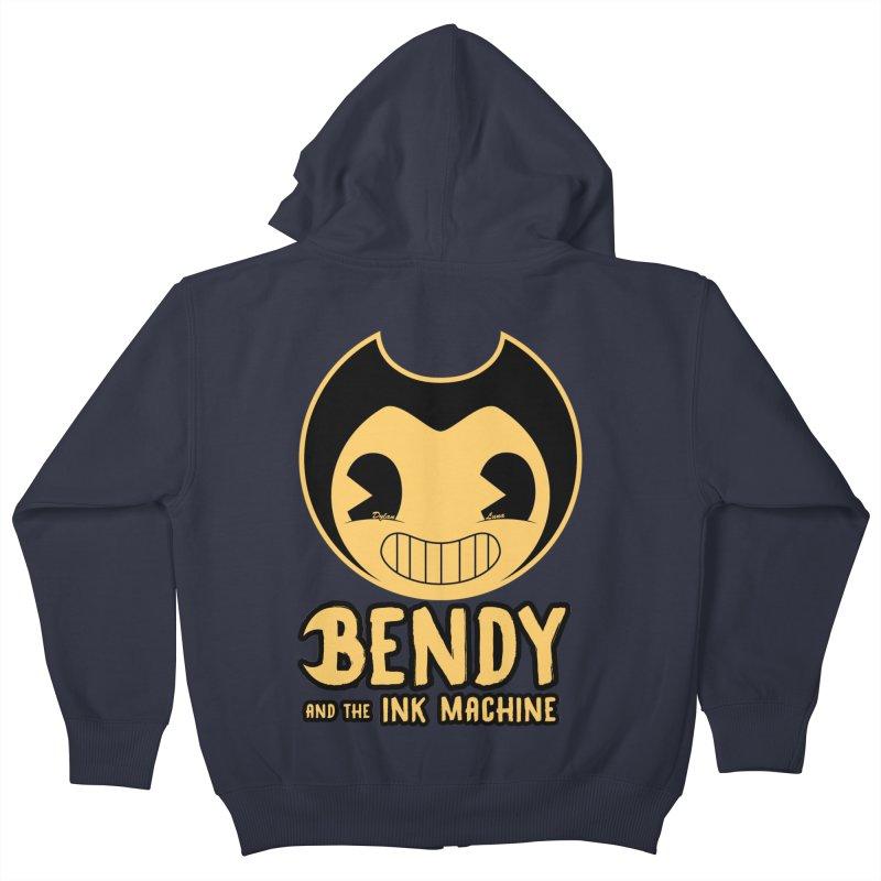 Bendy and The Ink Machine Kids Zip-Up Hoody by WaWaTees Shop