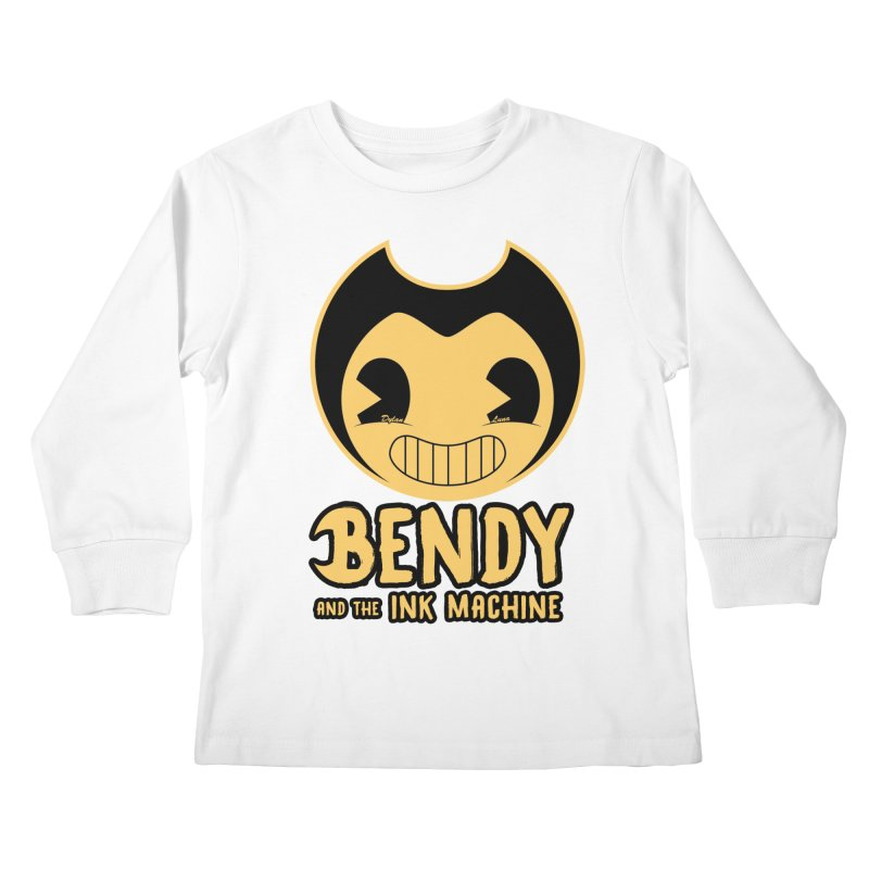 Bendy and The Ink Machine Kids Longsleeve T-Shirt by WaWaTees Shop