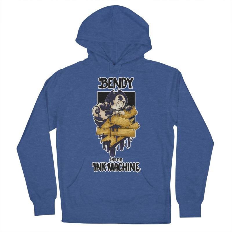Wooden Bendy Men's Pullover Hoody by WaWaTees Shop
