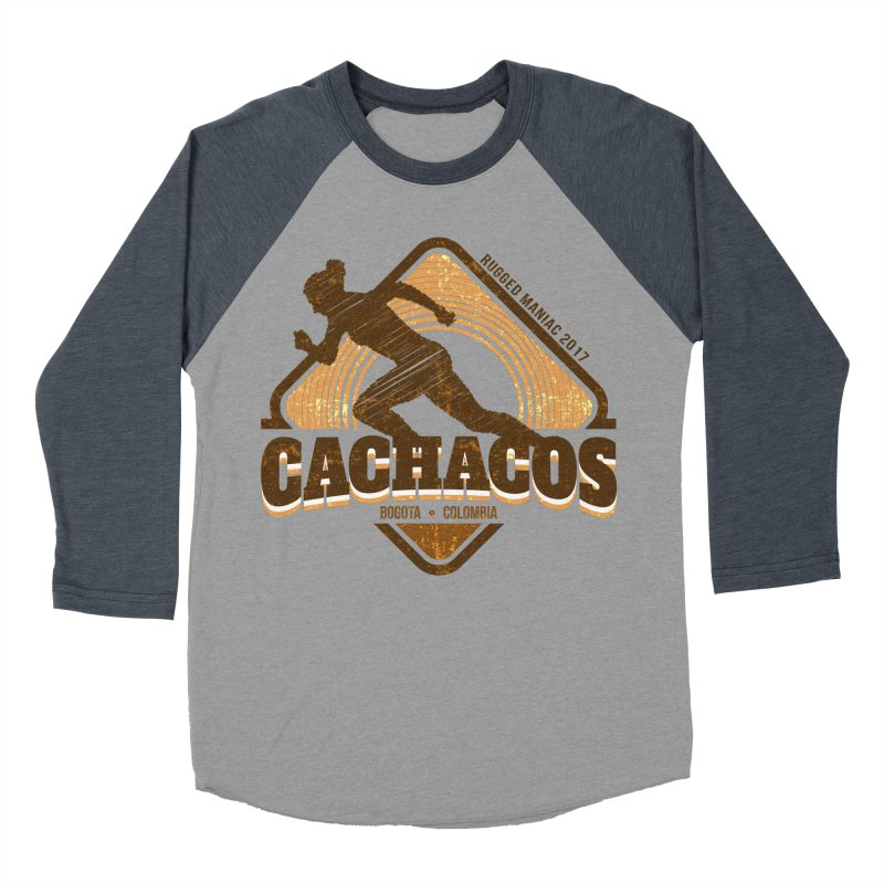 Los Cachacos Women's Baseball Triblend T-Shirt by WaWaTees Shop