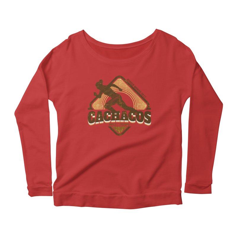 Los Cachacos Women's Longsleeve Scoopneck  by WaWaTees Shop