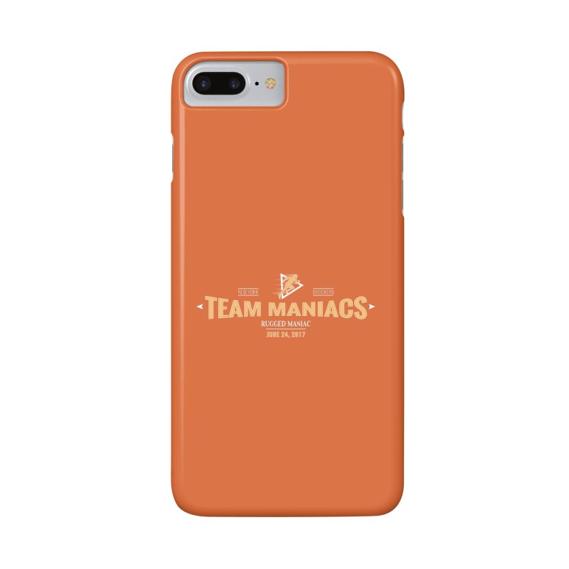 Team Maniacs Accessories Phone Case by WaWaTees Shop