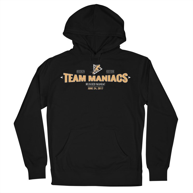Team Maniacs Men's Pullover Hoody by WaWaTees Shop