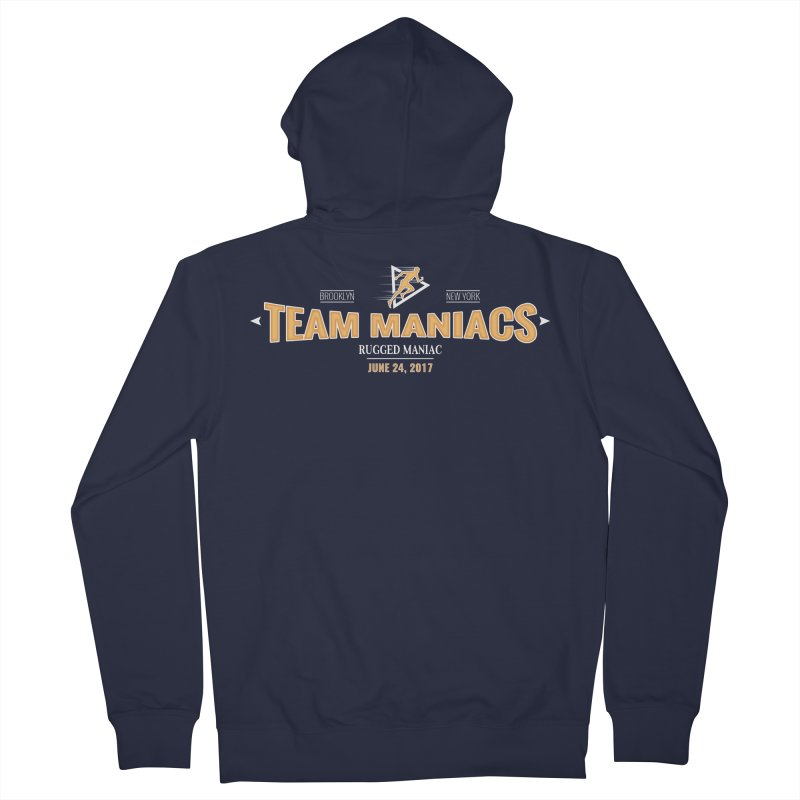 Team Maniacs Women's Zip-Up Hoody by WaWaTees Shop