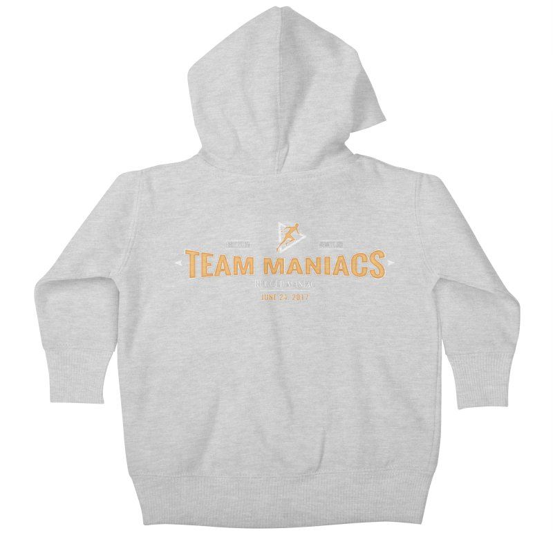 Team Maniacs Kids Baby Zip-Up Hoody by WaWaTees Shop