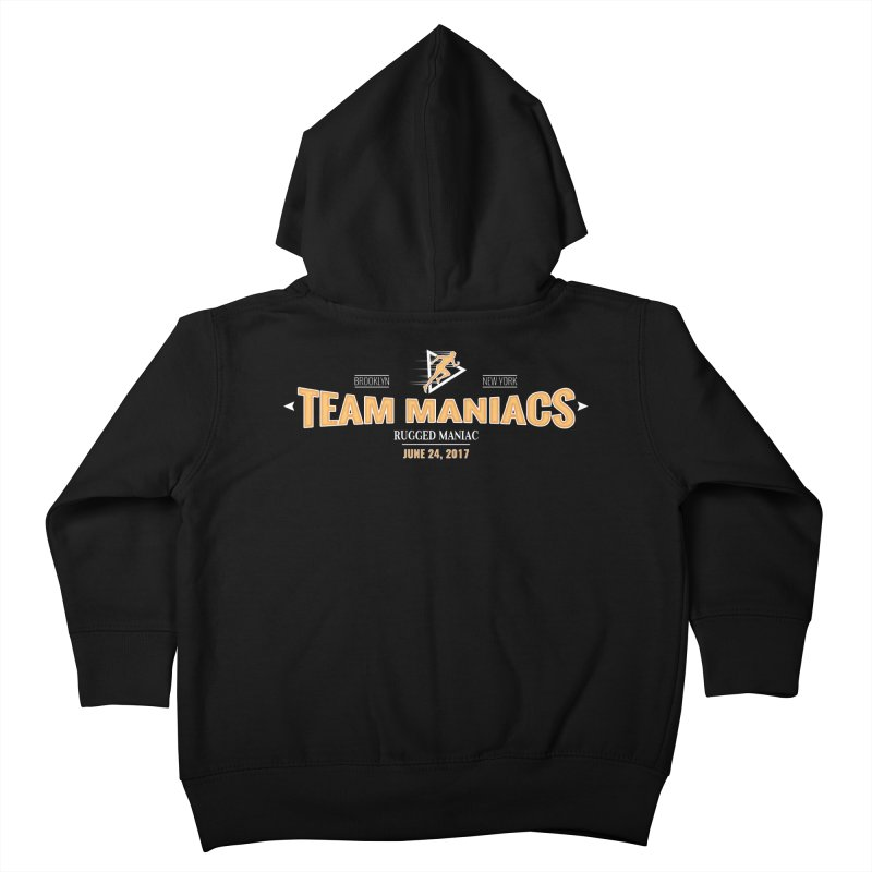 Team Maniacs Kids Toddler Zip-Up Hoody by WaWaTees Shop