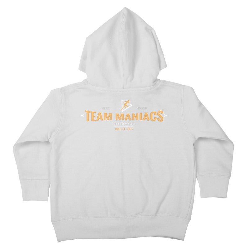 Team Maniacs Kids Toddler Zip-Up Hoody by WaWaTees Shop