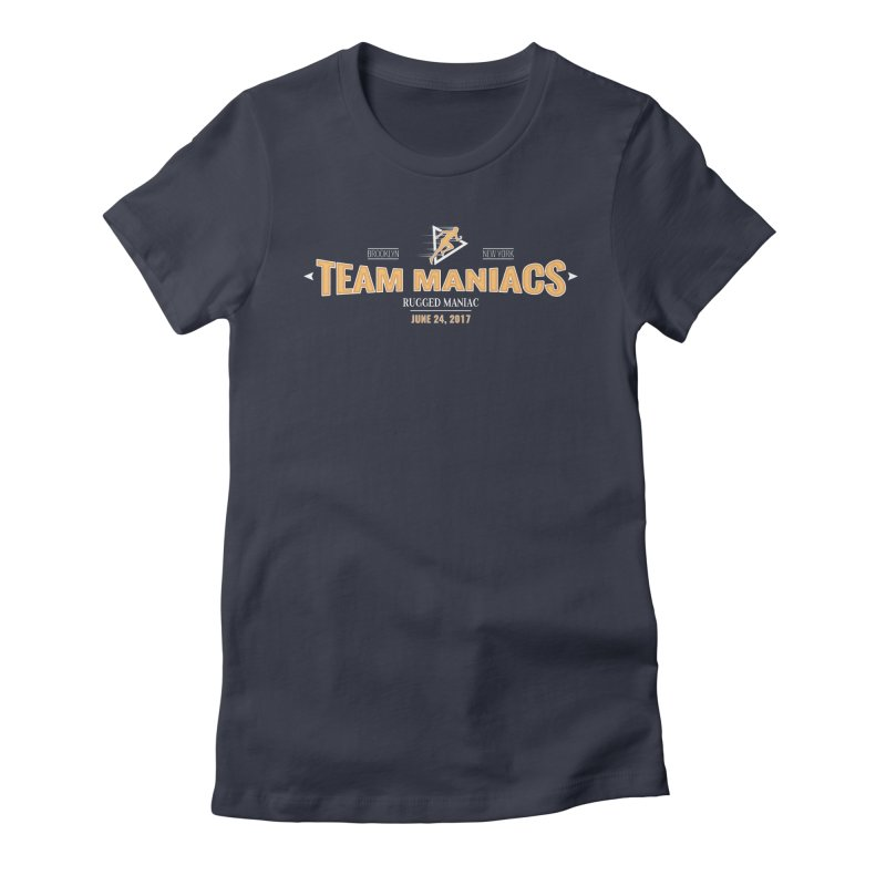 Team Maniacs Women's Fitted T-Shirt by WaWaTees Shop