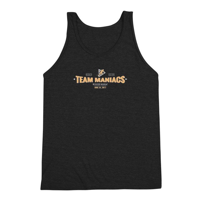 Team Maniacs Men's Triblend Tank by WaWaTees Shop