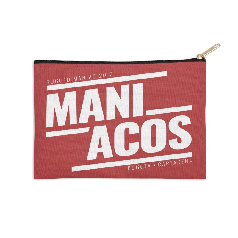 Maniacos v1 Accessories Zip Pouch by WaWaTees Shop